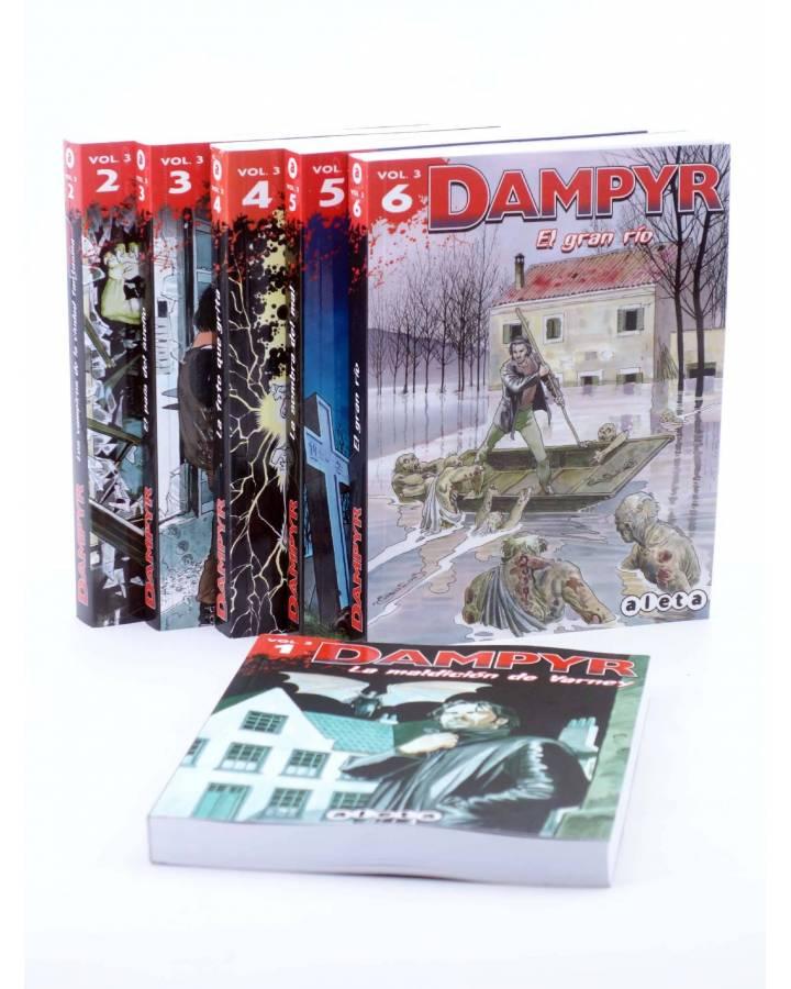 Cubierta de DAMPYR VOL. 3 1 A 6. COMPLETA (Mauro Boselli) Aleta 2012