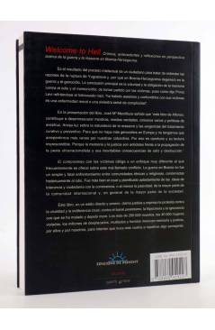 Contracubierta de PAPERS GRISOS 5. WELCOME TO HELL (Alfonso Marco) De Ponent 2001