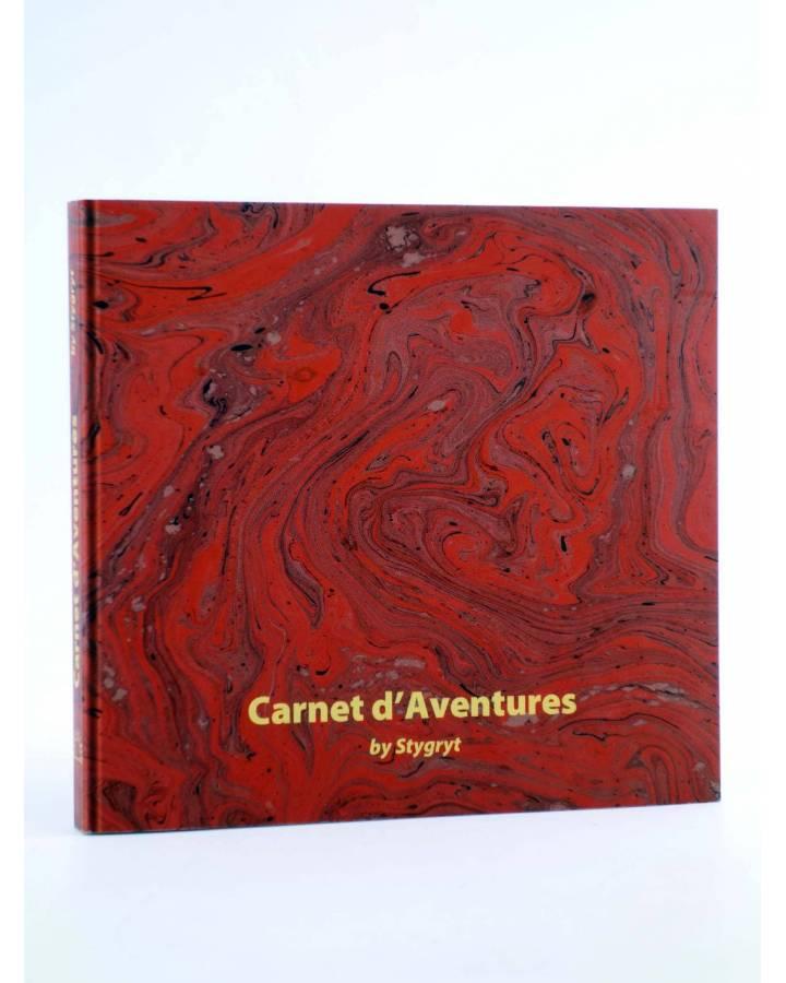 Cubierta de PAPERS GRISOS 34. CARNET D'AVENTURES (Stygrit) De Ponent 2012