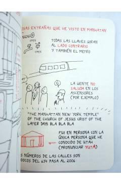 Muestra 3 de PAPERS GRISOS 13. TRES VIAJES (Miguel Gallardo) De Ponent 2006