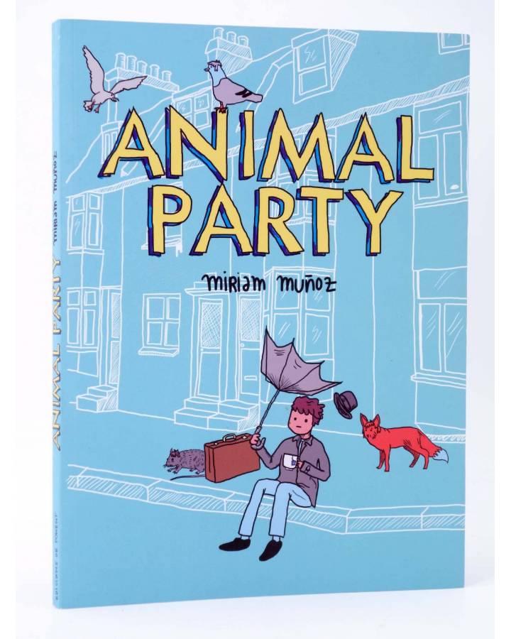 Cubierta de CREPÚSCULO 37. ANIMAL PARTY (Miriam Muñoz) De Ponent 2012