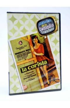 Cubierta de DVD CLÁSICOS DE LA COMEDIA ESPAÑOLA 8. LA CORISTA (José María Elorrieta) 2005