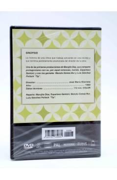 Contracubierta de DVD CLÁSICOS DE LA COMEDIA ESPAÑOLA 8. LA CORISTA (José María Elorrieta) 2005