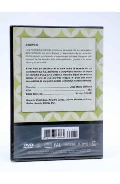 Contracubierta de DVD CLÁSICOS DE LA COMEDIA ESPAÑOLA 12. ESA PÍCARA PELIRROJA (José María Elorrieta) 2005