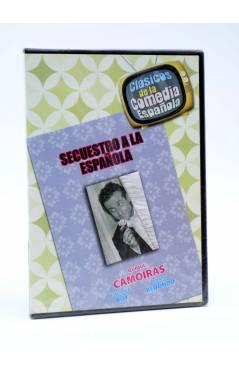 Cubierta de DVD CLÁSICOS DE LA COMEDIA ESPAÑOLA 3. SECUESTRO A LA ESPAÑOLA (Mateo Cano) 2005