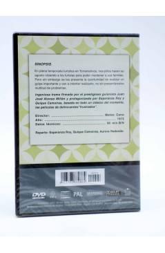 Contracubierta de DVD CLÁSICOS DE LA COMEDIA ESPAÑOLA 3. SECUESTRO A LA ESPAÑOLA (Mateo Cano) 2005