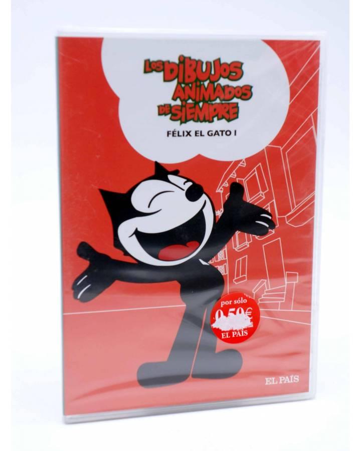 Cubierta de DVD LOS DIBUJOS ANIMADOS DE SIEMPRE 3. FÉLIX EL GATO I. El País 2008
