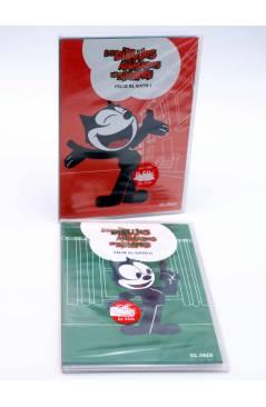 Cubierta de DVD LOS DIBUJOS ANIMADOS DE SIEMPRE 3 Y 13. FÉLIX EL GATO I Y II. El País 2008