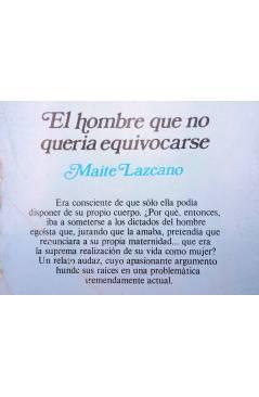 Muestra 1 de ARCADIA 15. EL HOMBRE QUE NO QUERÍA EQUIVOCARSE (Maite Lazcano) Ceres 1981