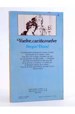 Contracubierta de ARCADIA 25. VUELVE CARIÑO VUELVE (Sergio Duval) Ceres 1981