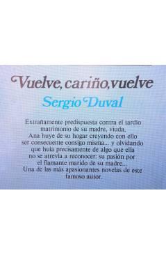 Muestra 1 de ARCADIA 25. VUELVE CARIÑO VUELVE (Sergio Duval) Ceres 1981
