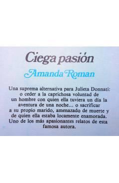 Muestra 1 de ARCADIA 35. CIEGA PASIÓN (Amanda Román) Ceres 1981
