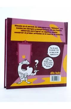 Contracubierta de RÁBANOS (Fran Collado) Dibbuks 2012