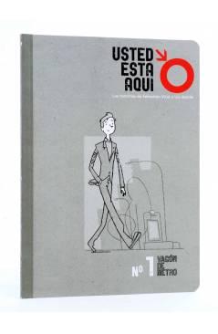Cubierta de USTED ESTÁ AQUÍ 1. VAGÓN DE METRO (Vvaa) Dibbuks 2010