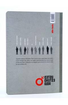 Contracubierta de USTED ESTÁ AQUÍ 1. VAGÓN DE METRO (Vvaa) Dibbuks 2010