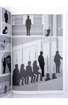 Muestra 1 de USTED ESTÁ AQUÍ 1. VAGÓN DE METRO (Vvaa) Dibbuks 2010