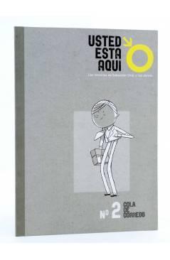 Cubierta de USTED ESTÁ AQUÍ 2. COLA DE CORREOS (Vvaa) Dibbuks 2010