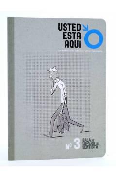 Cubierta de USTED ESTÁ AQUÍ 3. SALA DE ESPERA DEL DENTISTA (Vvaa) Dibbuks 2011