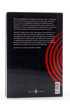 Contracubierta de LA ORILLA NEGRA 8. EN LOS UMBRALES DEL HADES (Osvaldo Reyes) Del Serbal 2016