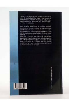 Contracubierta de EL BIBLIONAUTA 3. EL LAGO DE LOS BUITRES (Mateu Carrió) Del Serbal 2013
