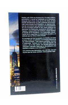 Contracubierta de EL BIBLIONAUTA 13. EN EL FUTURO VIVÍAMOS MEJOR. MADRID 2054 (Martínez Conesa) Del Serbal 2015