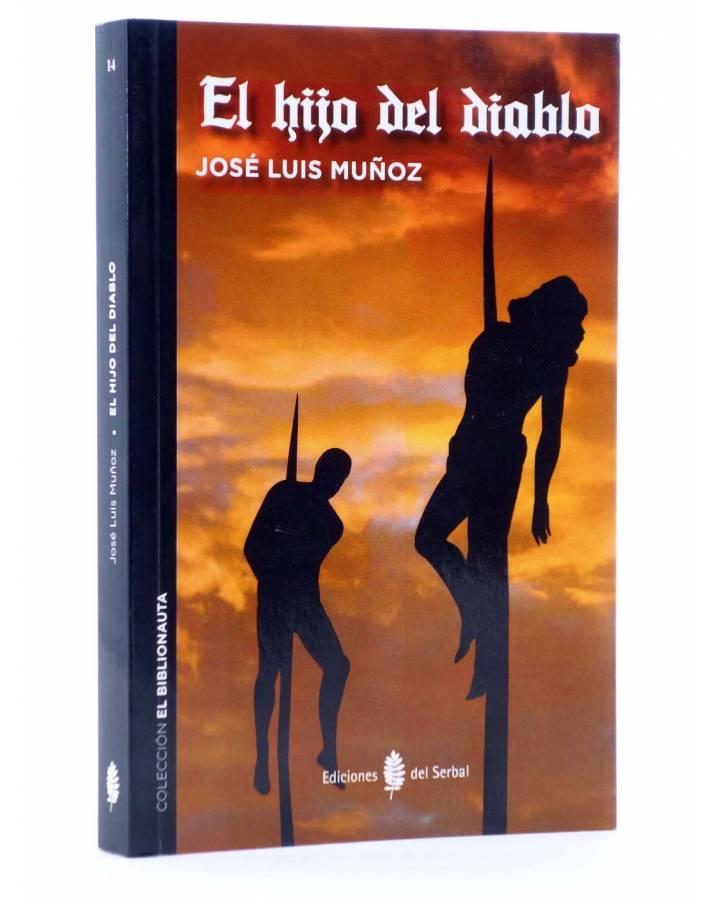 Cubierta de EL BIBLIONAUTA 14. EL HIJO DEL DIABLO (José Luis Muñoz) Del Serbal 2016