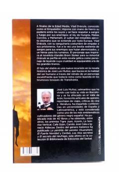 Contracubierta de EL BIBLIONAUTA 14. EL HIJO DEL DIABLO (José Luis Muñoz) Del Serbal 2016
