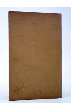 Contracubierta de LOS ÁNGELES. COMEDIA EN TRES CUADROS (Mariano Pérez Feliu) La Gutenberg 1920. DEDICATORIA AUTÓGRAFA