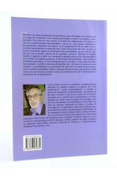 Contracubierta de LA ESTRELLA POLAR 45. CINE Y PERIODISMO. LOS COMPLEMENTOS (Carlos María Tosantos) Del Serbal 2004
