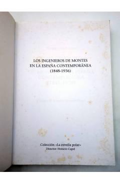 Muestra 2 de LA ESTRELLA POLAR 4. LOS INGENIEROS DE MONTES EN LA ESPAÑA CONTEMPORÁNEA (Vicente Casals Costa) Del Serbal