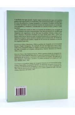 Contracubierta de LA ESTRELLA POLAR 2. GEOGRAFÍA ESTADÍSTICA Y CATASTRO EN ESPAÑA 1856-1870 (Muro / Nadal / Urteaga) Del