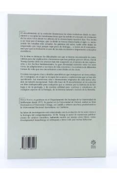 Contracubierta de LA ESTRELLA POLAR 15. EL DESCUBRIMIENTO DE LA EVOLUCIÓN (David Young) Del Serbal 1998