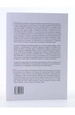 Contracubierta de LA ESTRELLA POLAR 10. HISTORIA DE LA FILOSOFÍA III. SIGLOS XVIII XIX Y XX (Juan Carlos García Borrón)