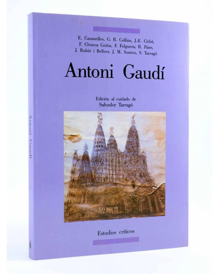 Cubierta de ANTONI GAUDÍ (Salvador Tarragó) Del Serbal 1991