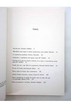 Muestra 2 de ANTONI GAUDÍ (Salvador Tarragó) Del Serbal 1991
