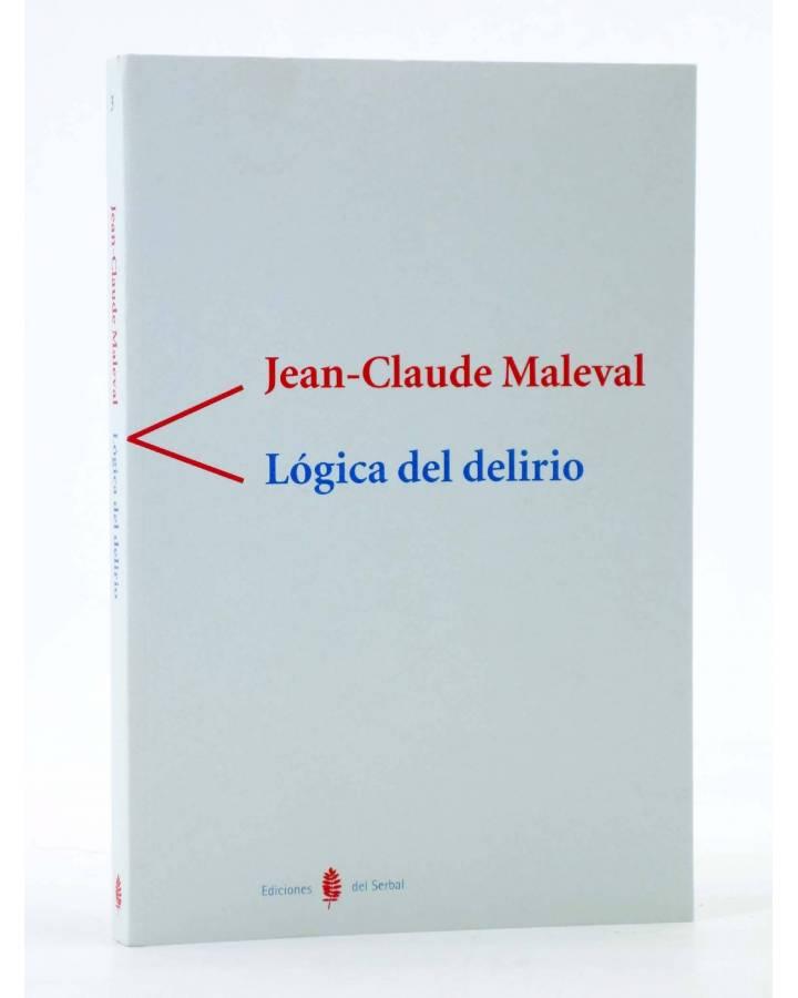 Cubierta de COLECCIÓN ANTÍGONA 3. LÓGICA DEL DELIRIO (Jean Claude Maleval) Del Serbal 1998