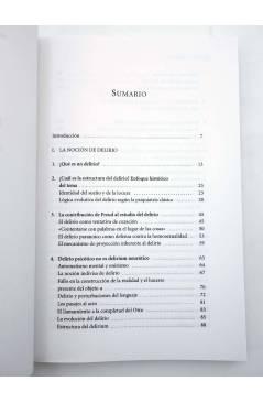Muestra 1 de COLECCIÓN ANTÍGONA 3. LÓGICA DEL DELIRIO (Jean Claude Maleval) Del Serbal 1998
