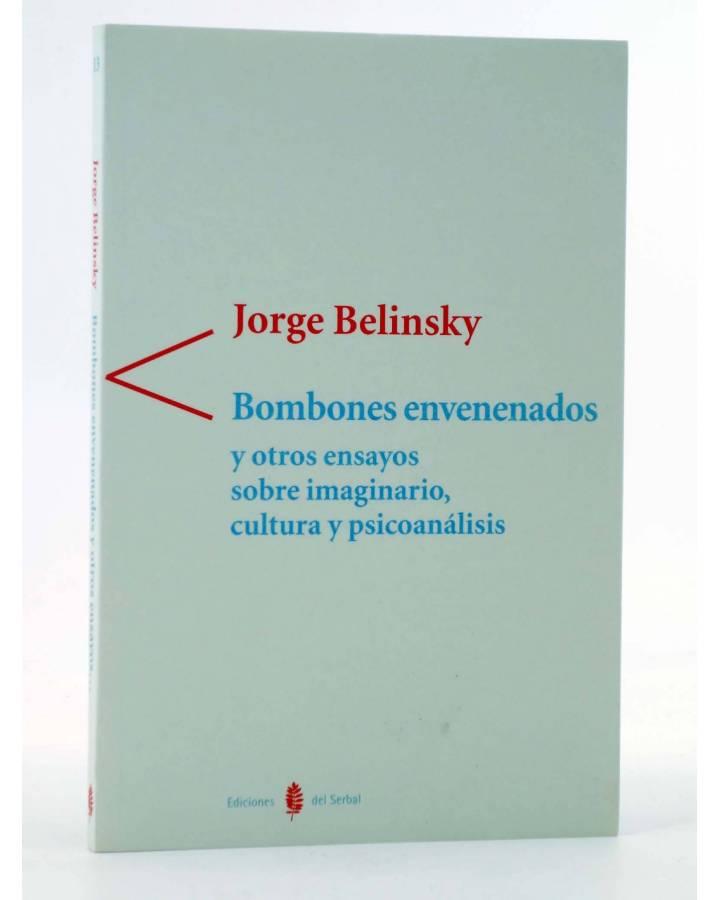 Cubierta de COLECCIÓN ANTÍGONA 13. BOMBONES ENVENENADOS Y OTROS ENSAYOS SOBRE IMAGINARIO CULTURA Y PSICOANÁLISIS (Jorge
