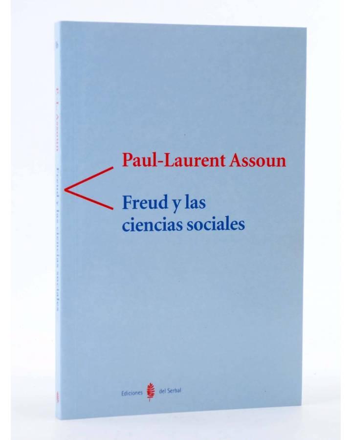 Cubierta de COLECCIÓN ANTÍGONA 16. FREUD Y LAS CIENCIAS SOCIALES (Paul Laurent Assoun) Del Serbal 2003