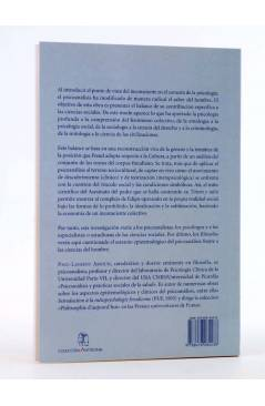 Contracubierta de COLECCIÓN ANTÍGONA 16. FREUD Y LAS CIENCIAS SOCIALES (Paul Laurent Assoun) Del Serbal 2003