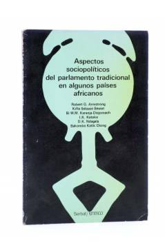 Cubierta de TEMAS AFRICANOS 3. ASPECTOS SOCIOPOLÍTICOS DEL PARLAMENTO TRADICIONAL DE ALGUNOS PAISES AFRICANOS (Vvaa) 198