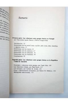 Muestra 1 de TEMAS AFRICANOS 8. DOS ESTUDIOS SOBRE LAS RELACIONES ENTRE GRUPOS EN ÁFRICA (Vvaa) Serbal / Unesco 1982