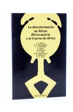 Cubierta de TEMAS AFRICANOS 12. LA DESCOLONIZACIÓN DE ÁFRICA: ÁFRICA AUSTRAL Y EL CUERNO DE ÁFRICA (Vvaa) Serbal / Unesc