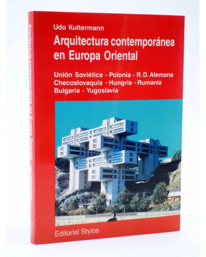 Cubierta de ARQUITECTURA CONTEMPORÁNEA EN EUROPA ORIENTAL (Udo Kultermann) Stylos 1989