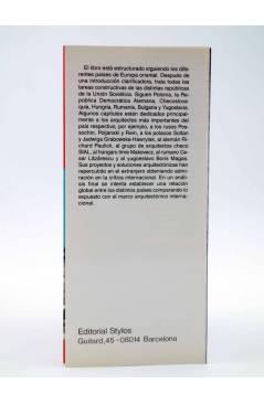Muestra 2 de ARQUITECTURA CONTEMPORÁNEA EN EUROPA ORIENTAL (Udo Kultermann) Stylos 1989