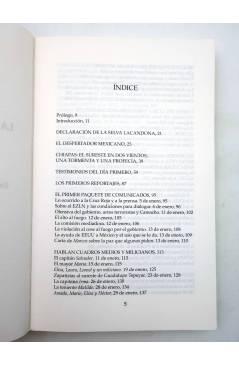 Muestra 2 de CHIAPAS: LA PALABRA DE LOS ARMADOS DE VERDAD Y FUEGO VOL I (Ezln) Del Serbal 1994
