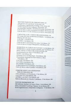 Muestra 3 de CHIAPAS: LA PALABRA DE LOS ARMADOS DE VERDAD Y FUEGO VOL I (Ezln) Del Serbal 1994