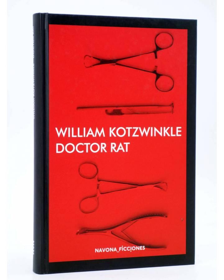 Cubierta de NAVONA FICCIONES. DOCTOR RAT (William Kotzwinkle) Navona 2016