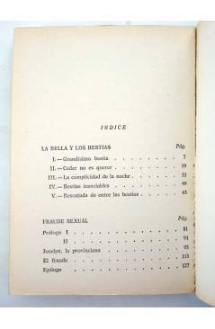 Muestra 1 de SEXY NOVELA 7. LA BELLA Y LOS BESTIAS (Enrico Farinacci) Producciones Editoriales 1977