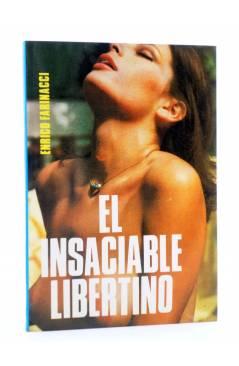 Cubierta de SEXY NOVELA 11. EL INSACIABLE LIBERTINO (Enrico Farinacci) Producciones Editoriales 1978